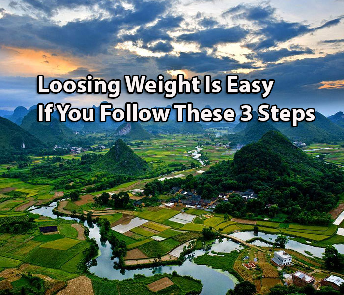 Loosing Weight Is Easy If You Follow These 3 Steps