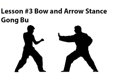 ☯ ☯ Learning Kung Fu Online Lesson #3 Bow And Arrow Stance Gong Bu