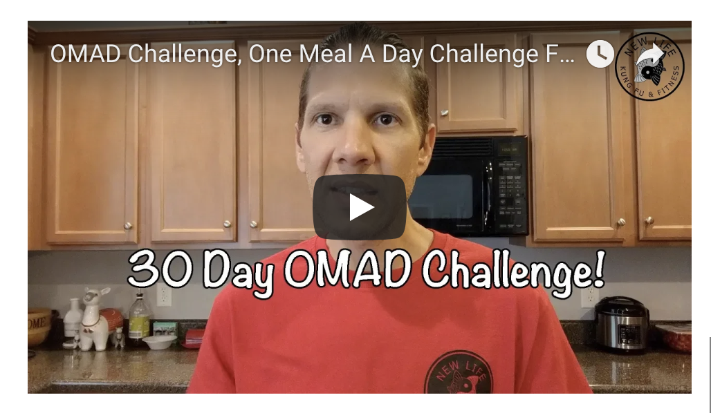 OMAD Challenge, One Meal A Day Challenge For 30 Days