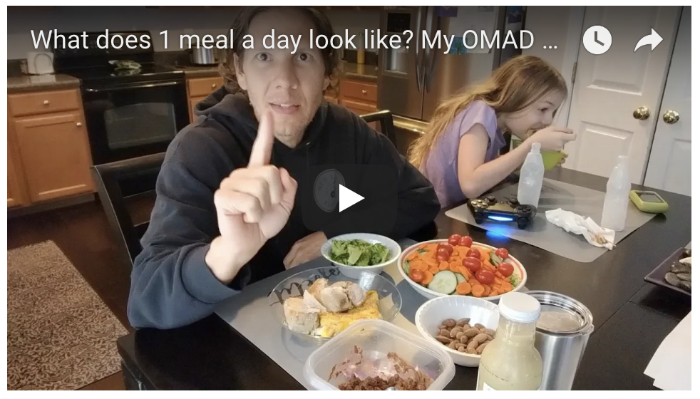 What does 1 meal a day look like? My OMAD Meal